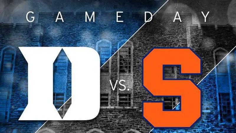 Duke hosting Syracuse