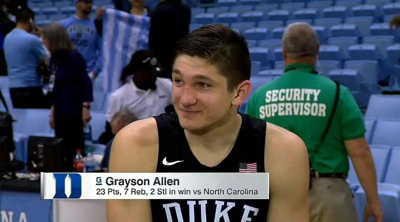 Grayson Allen scored 23 points
