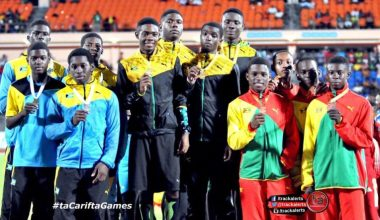 Jamaica Sweeps 4x100m Relays At Carifta Games: Day 2