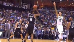 Spurs end Rockets win streak in 102-100 thriller