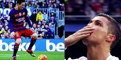 El Clasico Messi v Ronaldo