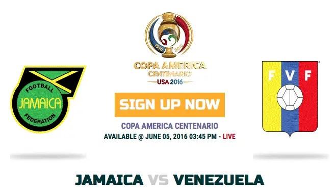 Jamaica v Venezuela: Live Copa America