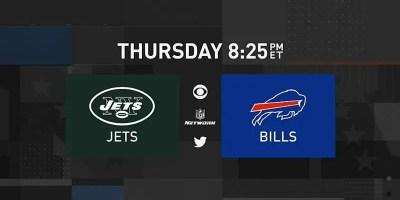 New York Jets and Buffalo Bills. NFL