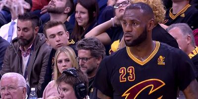 LeBron James of Cleveland Cavaliers