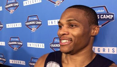 Westbrook Ready To Go: NBA Fixtures: Oct. 26