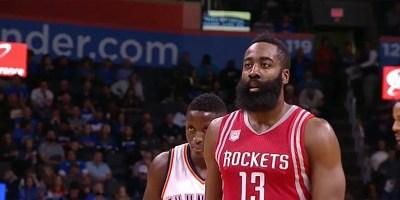 James Harden of Rockets in NBA