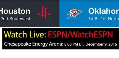 Westbrook v Harden: NBA Schedule