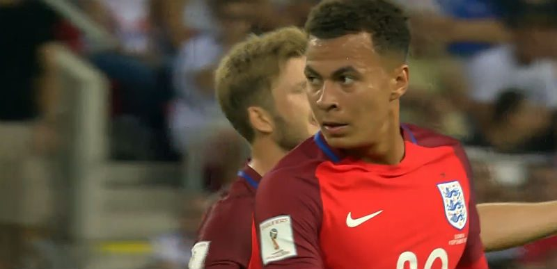 Dele Alli of England and Tottenham
