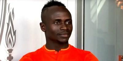 Sadio Mane of Senegal and Liverpool