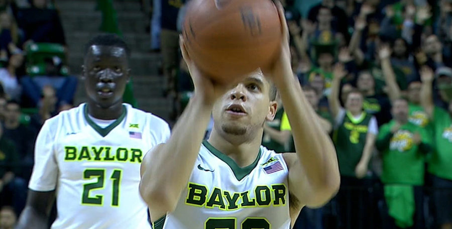 Manu Lecomte of Baylor Basketball