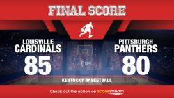 No. 14 Louisville outlasted Artis, Pittsburgh; 85-80