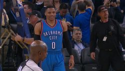Westbrook 43pts Triple-Double Leads Thunder Over Jazz