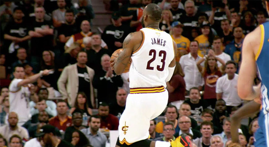 LeBron James NBA Finals