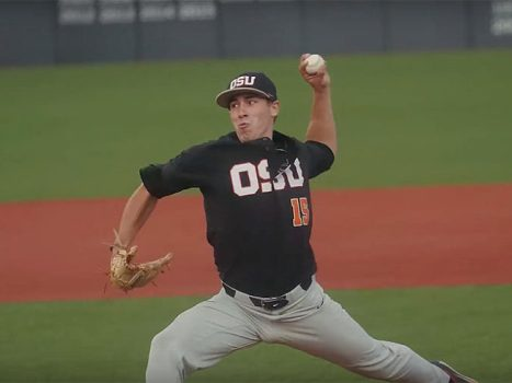 Luke Heimlich of Oregon State Baseball