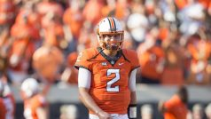 Mason Rudolph Throws 5 TDs, No. 9 Oklahoma State Routs Pitt 59-21