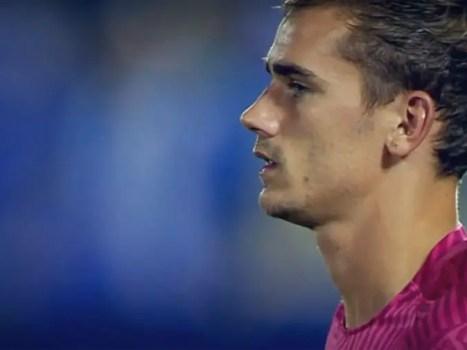 Antoine Griezmann of Atletico Madrid