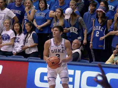 Grayson Allen of Duke