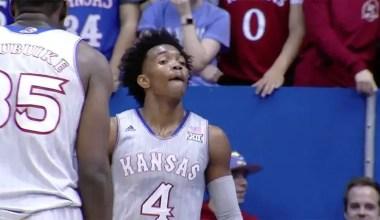 Graham Scores Career-High 35; No. 2 Kansas Crushed Toledo 96-58