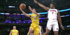 Lonzo Ball Helps Los Angeles Beat Detroit 113-93