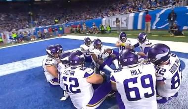 Detroit Lions 30 v Minnesota Vikings 23: Thanksgiving Day Inactives