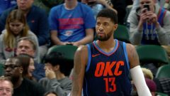 George Struggled On Indiana Return, But Thunder Edged Pacers
