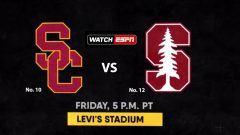 No. 10 USC v No. 12 Stanford: Stream Pac-12 Title Game