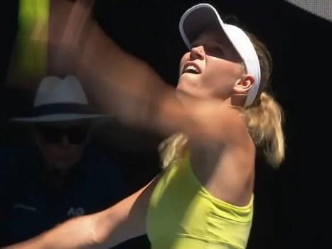 Caroline Wozniacki 2018 Australian Open