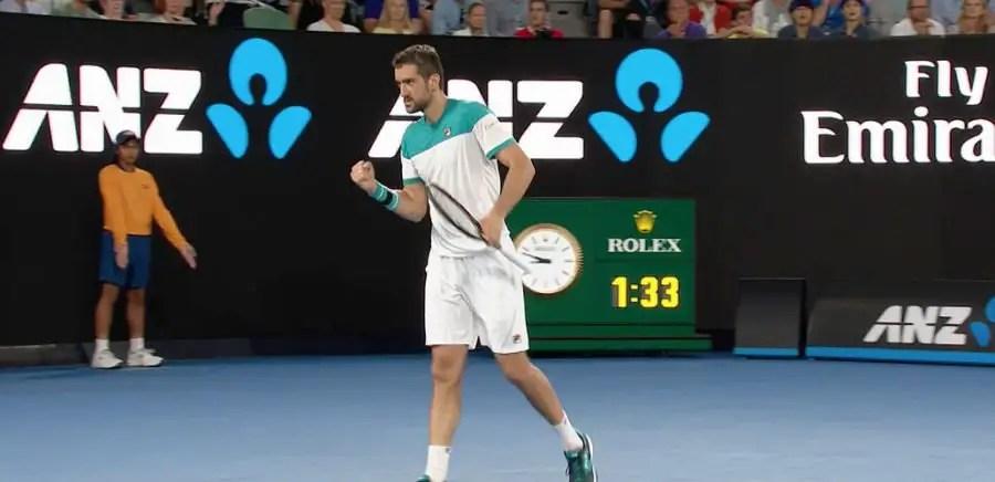 Marin Cilic - 2018 Australian Open