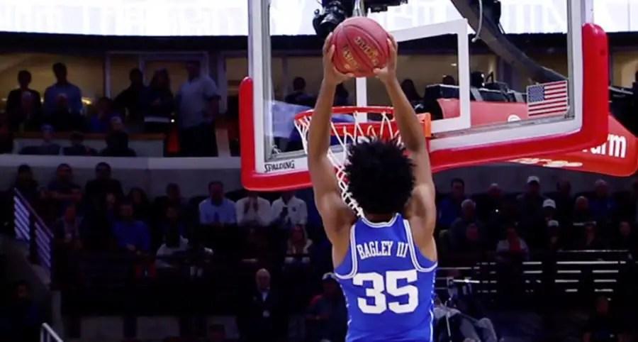 Marvin Bagley III - Duke Blue Devils NCAA Tournament