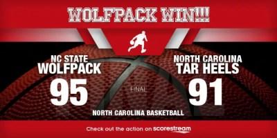 NC State beats North Carolina