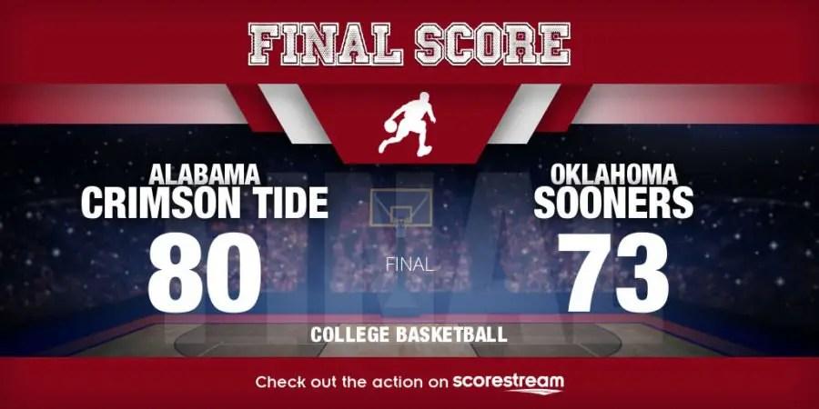 Alabama beats Oklahoma