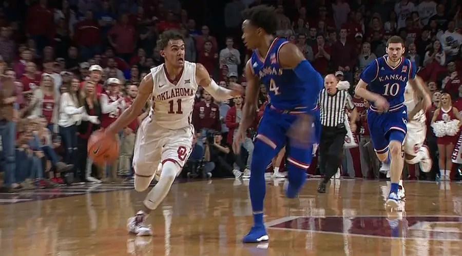 College basketball roundup: No. 12 Oklahoma beats No. 5 Kansas