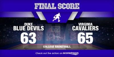 Virginia Cavaliers v Duke Blue Devils