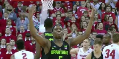 Cassius Winston of Michigan State