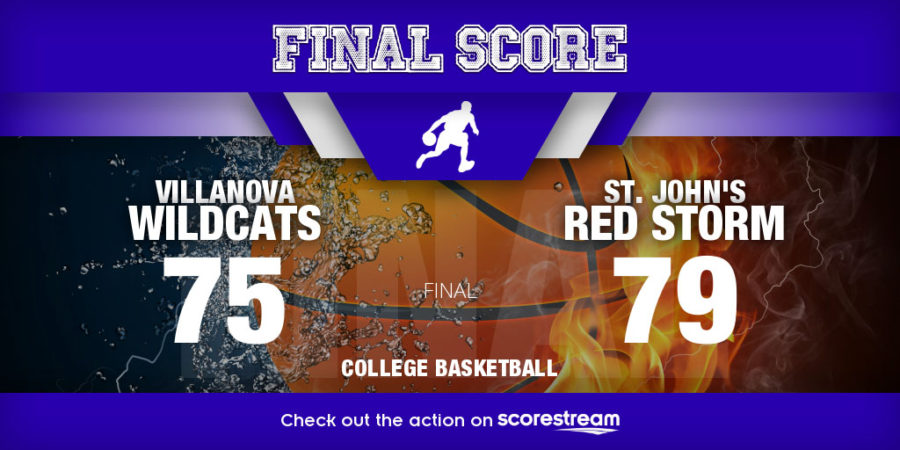 St. John's and Villanova score