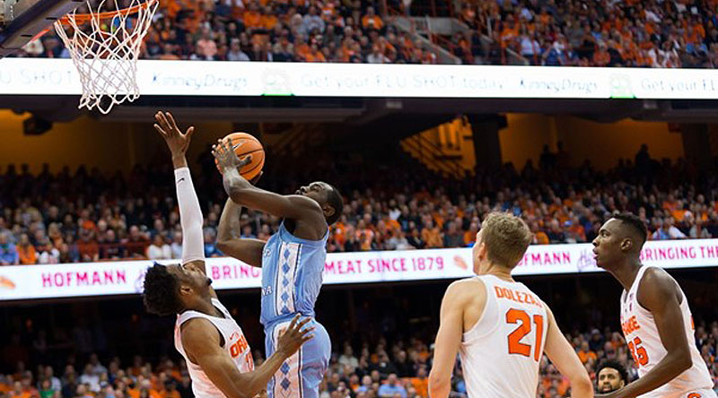ACC Action: North Carolina Tar Heels at Syracuse Orange