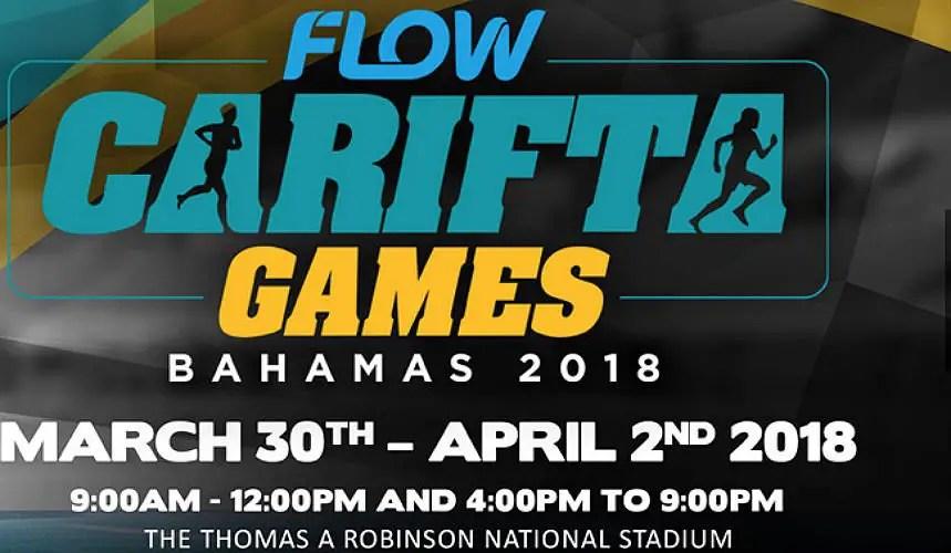 2018 Carifta Games - Flow live streaming