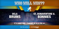 UCLA v St. Bonaventure: First Four NCAA Tournament Stream, Preview
