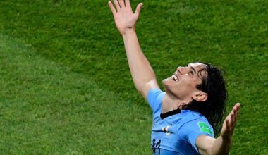 Cavani Nets Twice, Uruguay Ousts Portugal: World Cup Score