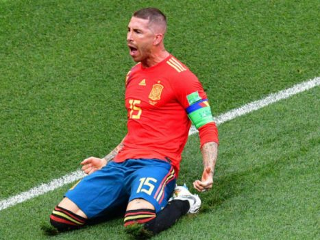 Sergio Ramos World Cup - Russia v Spain