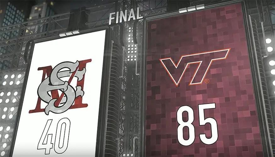 Virginia Tech v Maryland-Eastern Shore