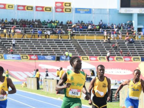 Vashaun Vascianna of St. Jago High at Champs 2019