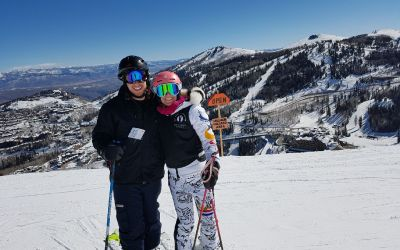 Skiing with Shannon Bahrke