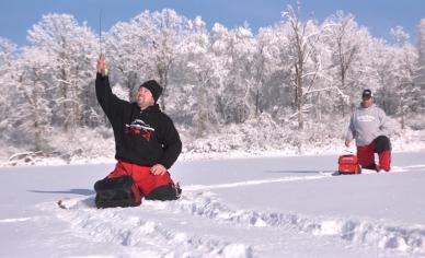 Snowy Hookset