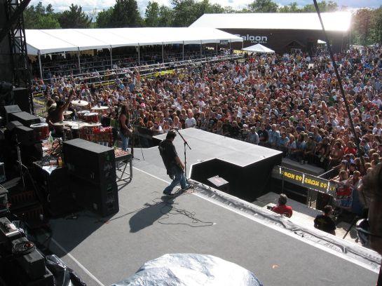 The biggest rock festival in Minnesota - Moondance Jam