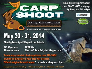 Carp Shoot Flyer