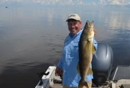 Joe Henry, summer walleye, calm water - Copy (640x424)