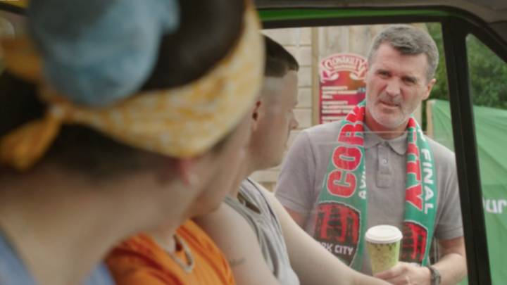 Roy keane flops in acting debut on Irish Television show
