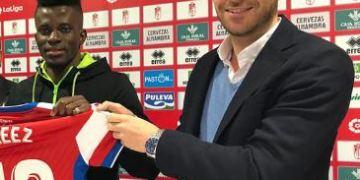 Ramon Azeezs boss Martinez signs new deal at Granada