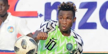 Aina, Chukwueze fighting to be fit for Lesotho clash
